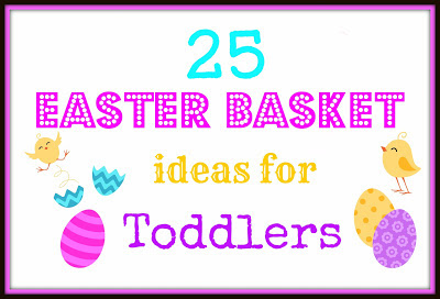 Savvy and sassy march 2013 25 easter basket ideas for toddlers negle Image collections