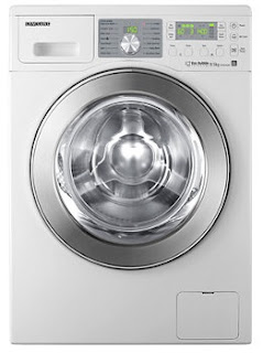 mesin cuci font loading merk Samsung - WF0854W8E
