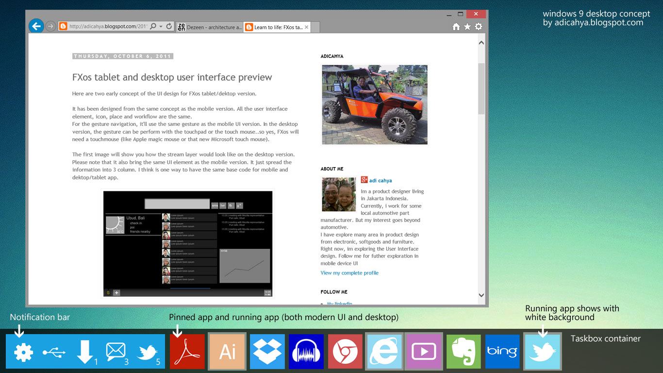 Multiverse Innovation Windows 9 Ui Concept