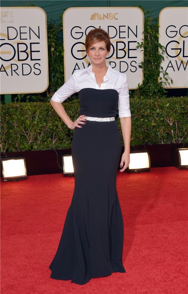 Julia Roberts de D&G Globos de Oro 2014
