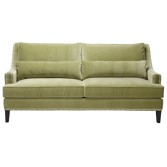 Green Pierre Sofa from Z Gallerie