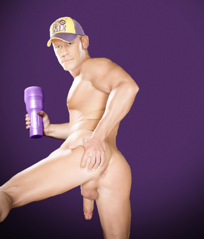 john cena buttnaked fake