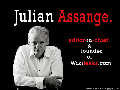 Julian Assange, Wikileaks, julian assange story and biography