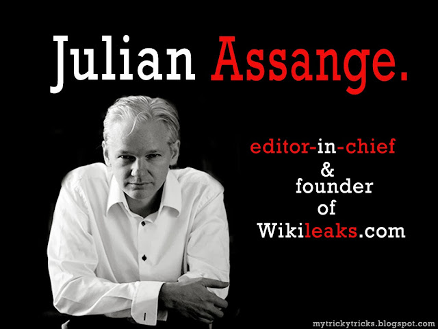Julian Assange, Wikileaks, founder of wikileaks