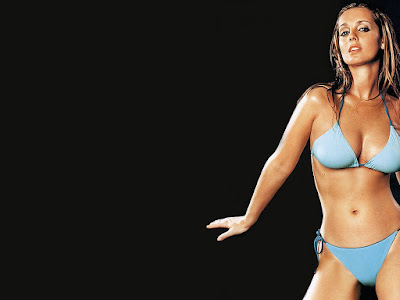 Louise Redknapp Bikini Wallpapers