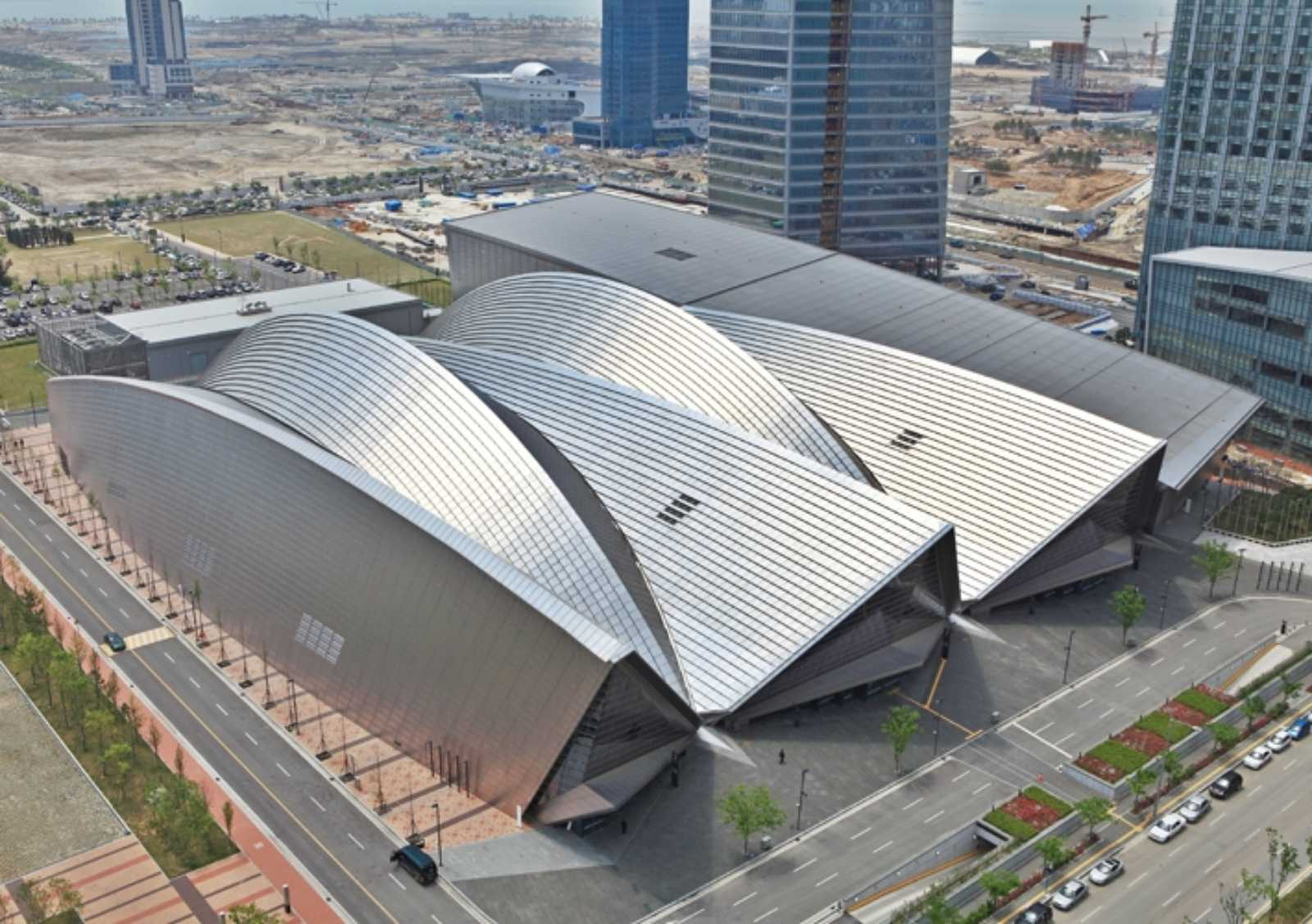 Convensia Convention Center By Kpf A As Architecture
