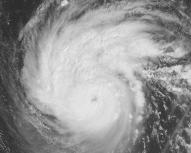Hurrikan KATIA legt plötzlich mächtig zu - jetzt Kategorie 2, Katia, Satellitenbild Satellitenbilder, Atlantik, Hurrikanfotos, September, 2011, Hurrikansaison 2011,