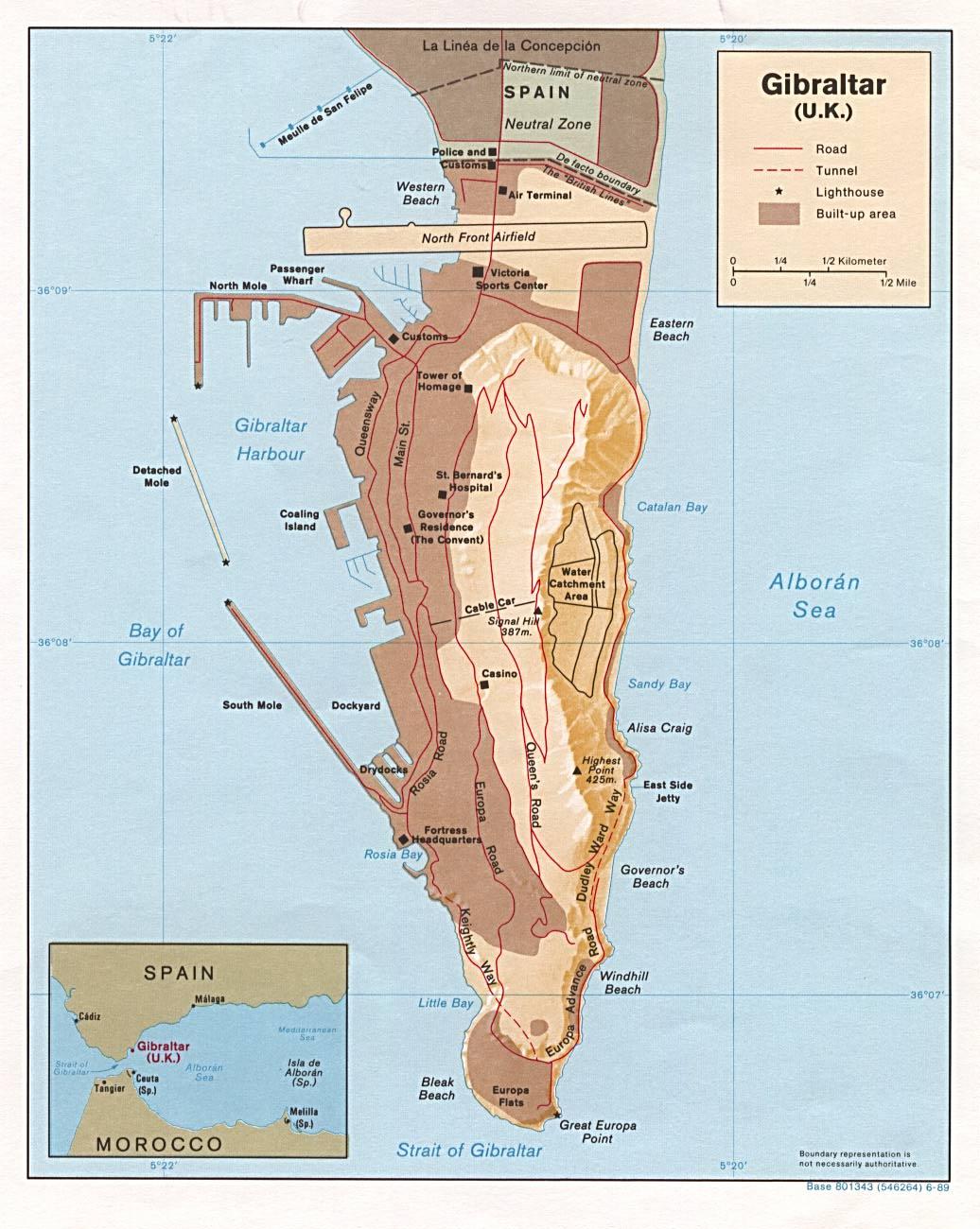 España reclama Gibraltar a los Ingleses