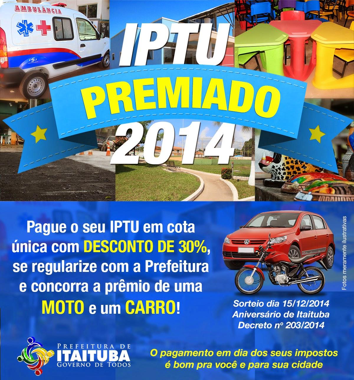 IPTU Premiado  2014