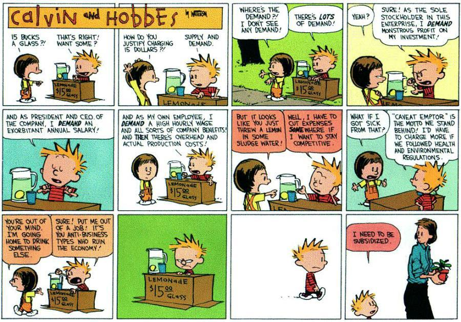 Hobbesian World Of Mormon Cricket >> Greenlee Gazette Calvin And Hobbes Ahead Of Its Time Corporate