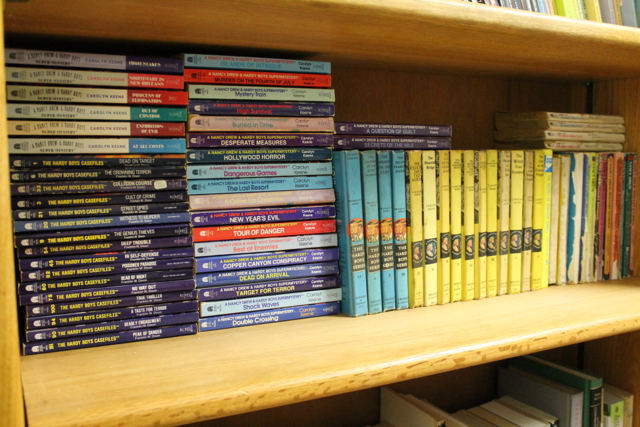Nancy Drew + Hardy Boys collection
