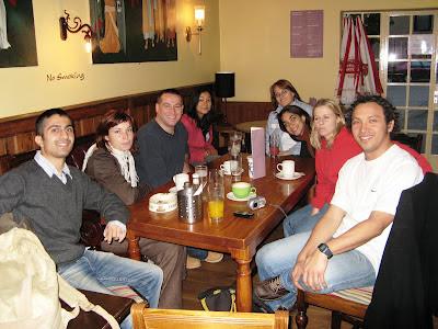Classmates from Wimbledon Language Academy - London