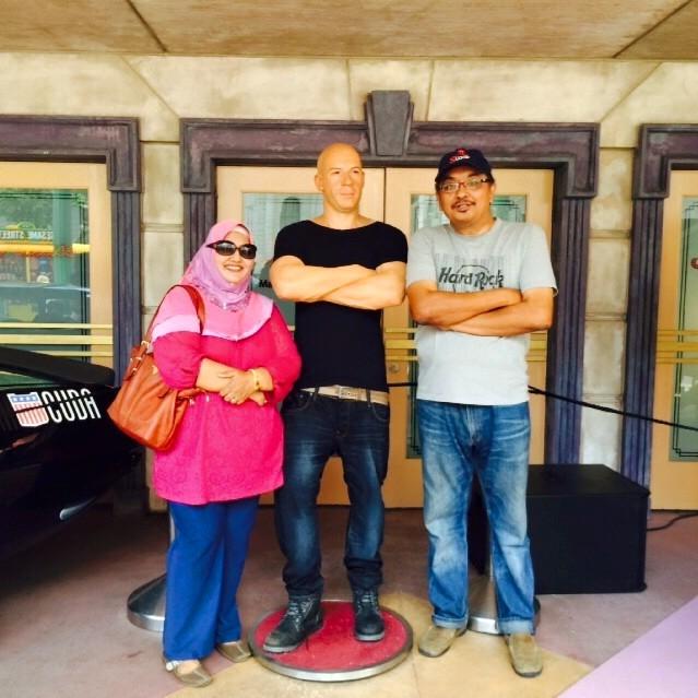 UNIVERSAL STUDIO SINGAPORE 2015