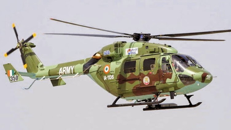 Dhruv Utility Helicopter
