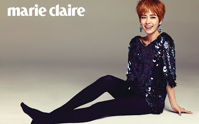 Han Ji Min Marie Claire Magazine June 2013