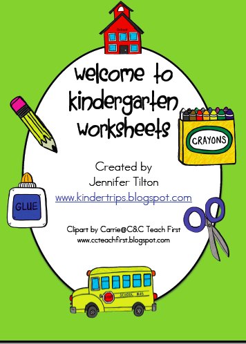 Made a pre k packet too it is on tpt free