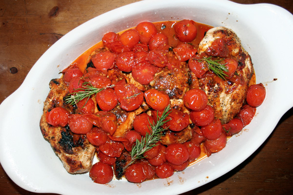 CHICKEN BREASTS WITH TOMATO-HERB PAN SAUCE | Recipe inspired by Bon ...