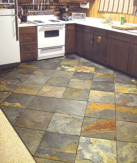 Kitchen design ideas 5 kitchen flooring ideas for perfect for Kitchen tile design ideas