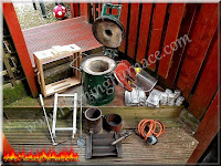 foundry tools and aluminum ingots