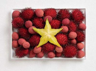 Kumpulan Bendera Nasional Yang Terbuat dari Makanan - Blog Syakur