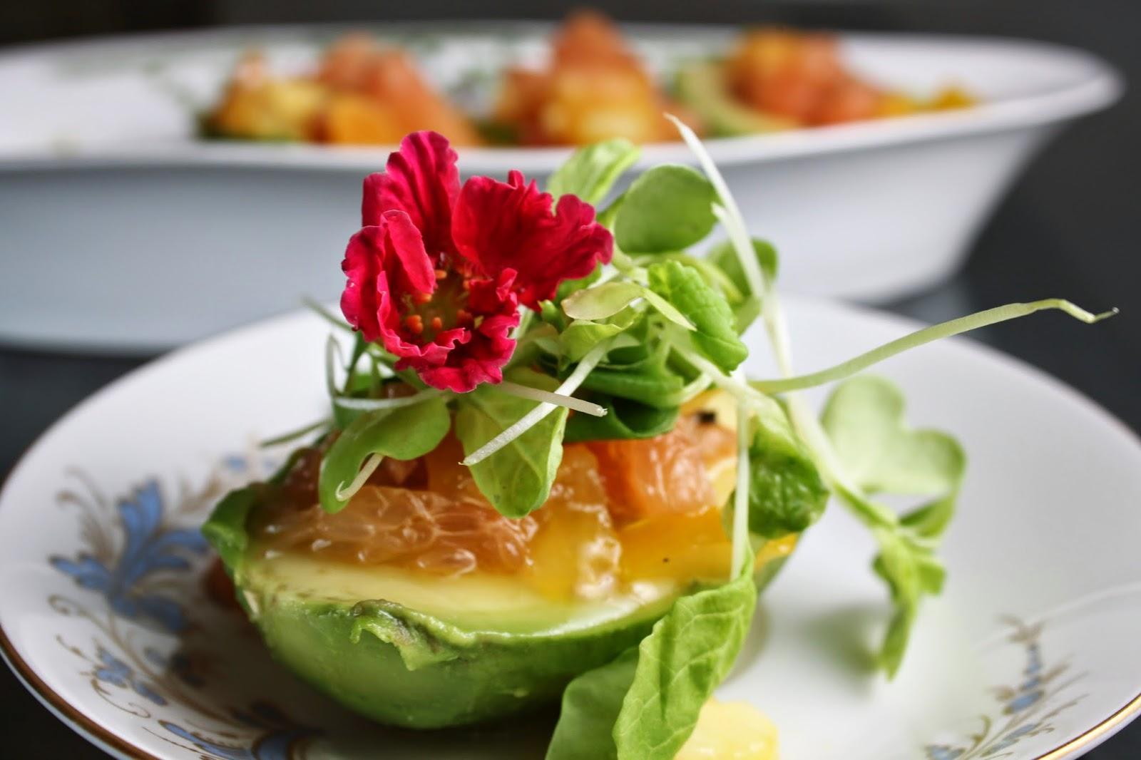 Fat and Happy Blog: Avocado Citrus Salad