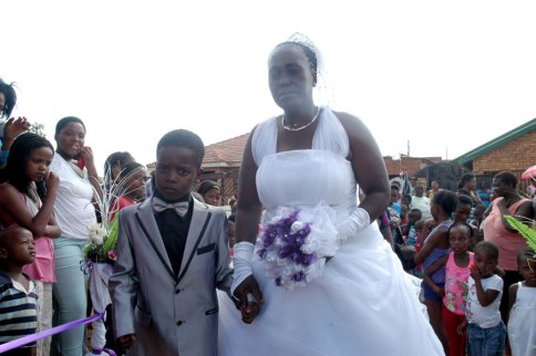 Eight Year Old Boy Marries 61 Year Old Woman