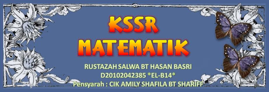 KSSR MATEMATIK