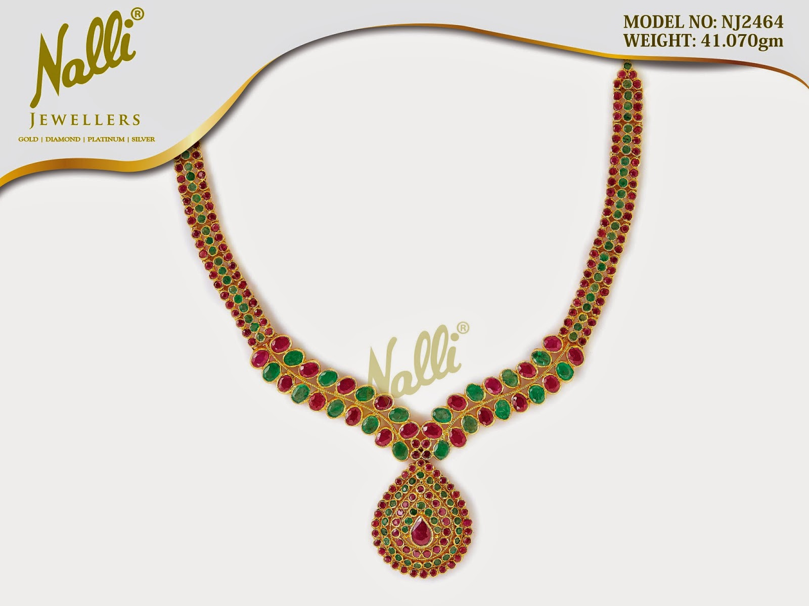 Nalli Jewellers Necklace Collections