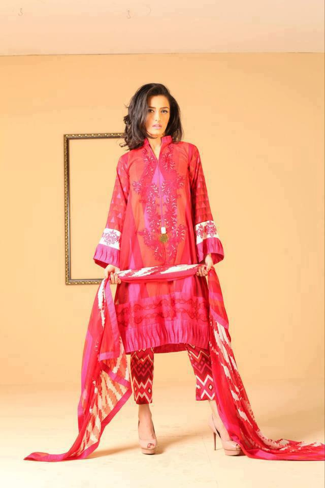 Ayesha Somiya Latest spring summer lawn collection 2013