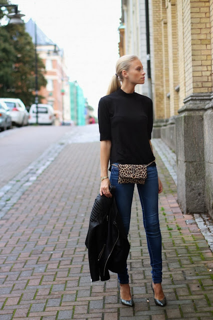 Leopard Fanny Pack by Hipsters for Sisters