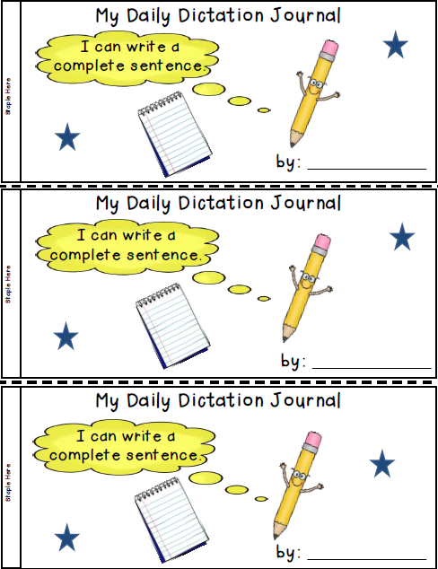 Dictation Journal Freebie