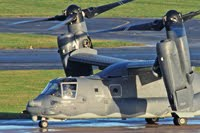 See the US Air Force CV-22 Osprey at BHX