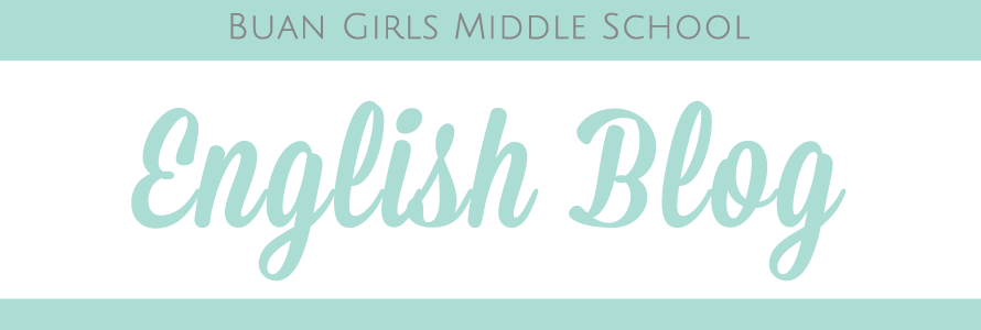 Buan Girls Middle School English Camp