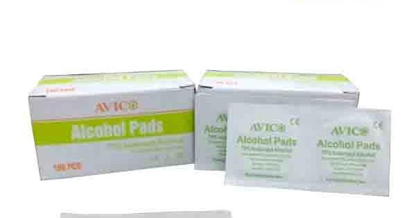 Alcohol Pads - Tisu Alkohol - Toko Medis Jual Alat Kesehatan