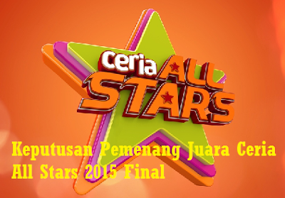 Juara Ceria All Stars 2015 Final