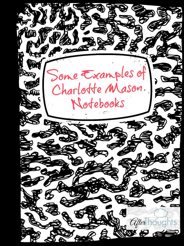 charlotte mason classical education notebooks