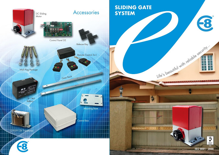 DC Sliding Gate System