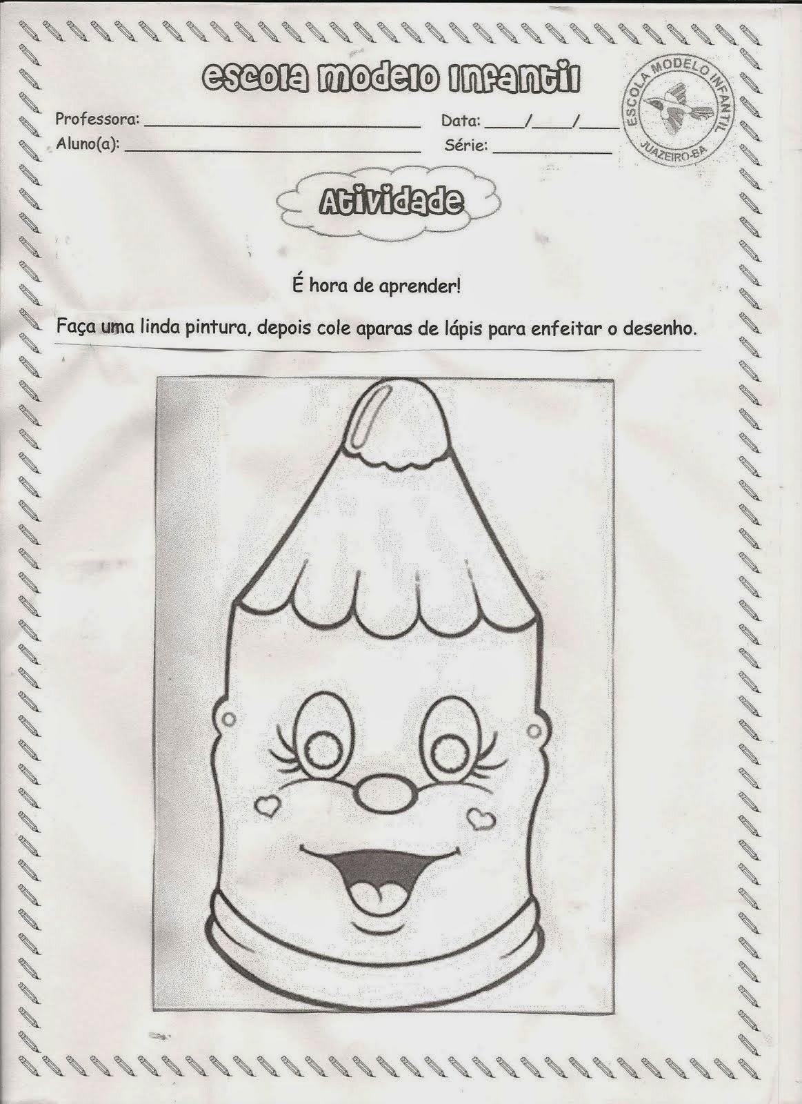atividades infantis 0 1