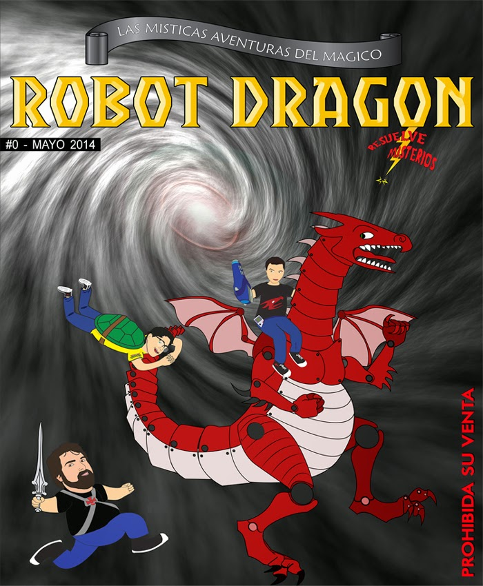 Robot Dragon #0