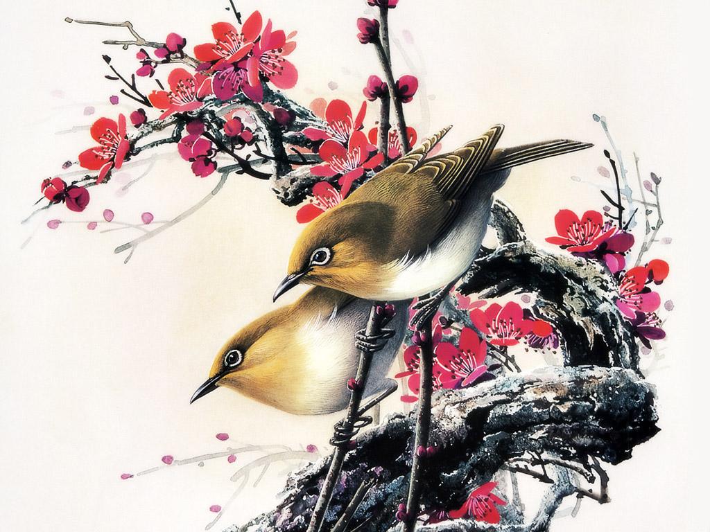 Creativity design 39 s chinese painting art for Chinese mural art