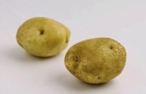 Tulang wajah Anda bergelombang seperti si kentang?