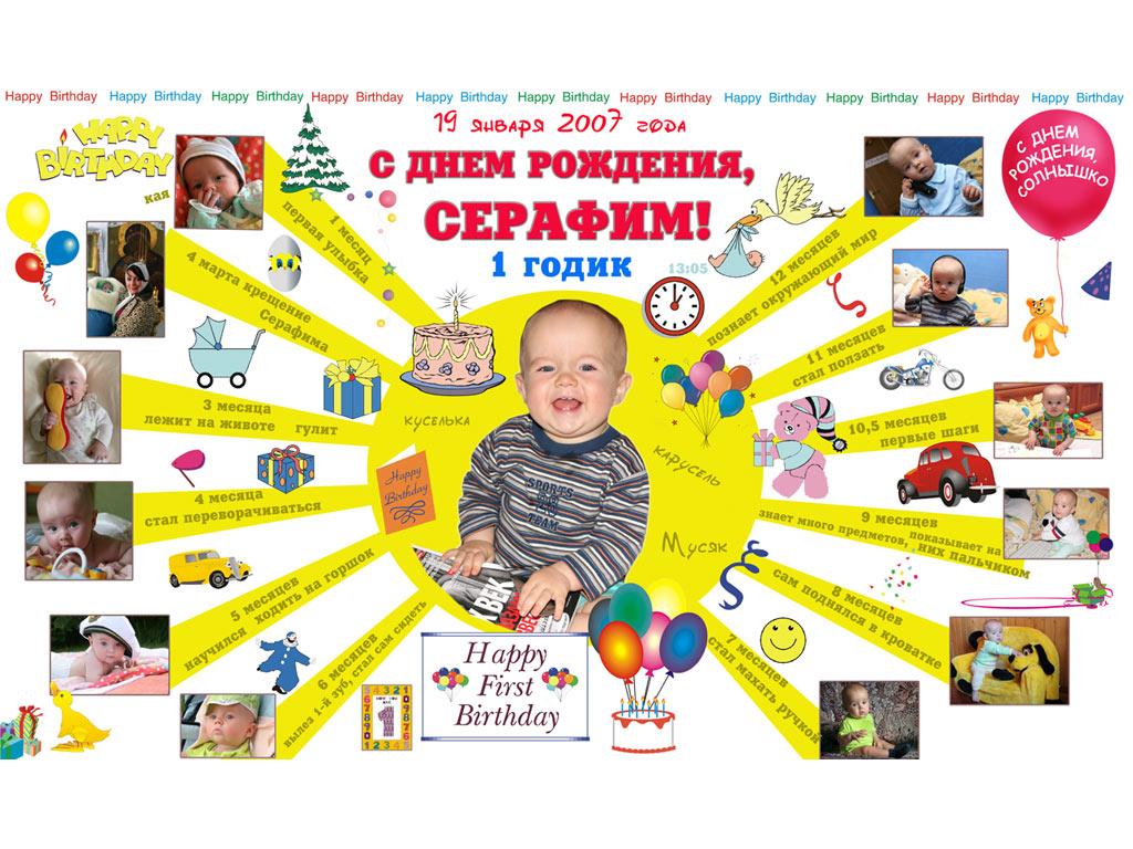 Плакат с днём рождения своими руками сыну 35