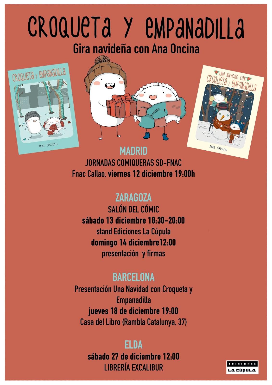 El blog de ediciones la c pula agenda de diciembre - Casa del libro barcelona rambla catalunya ...