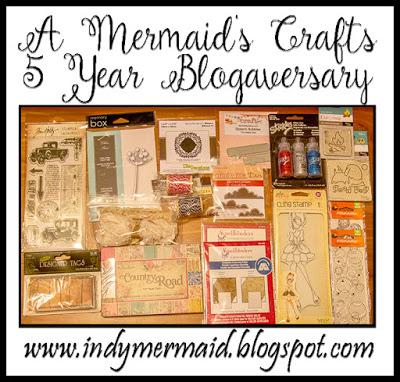 A Mermaid's Crafts 5 Year Blogaversary