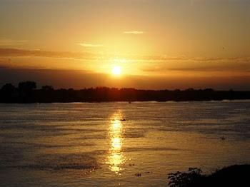 Amanecer sobre el Río Coronda