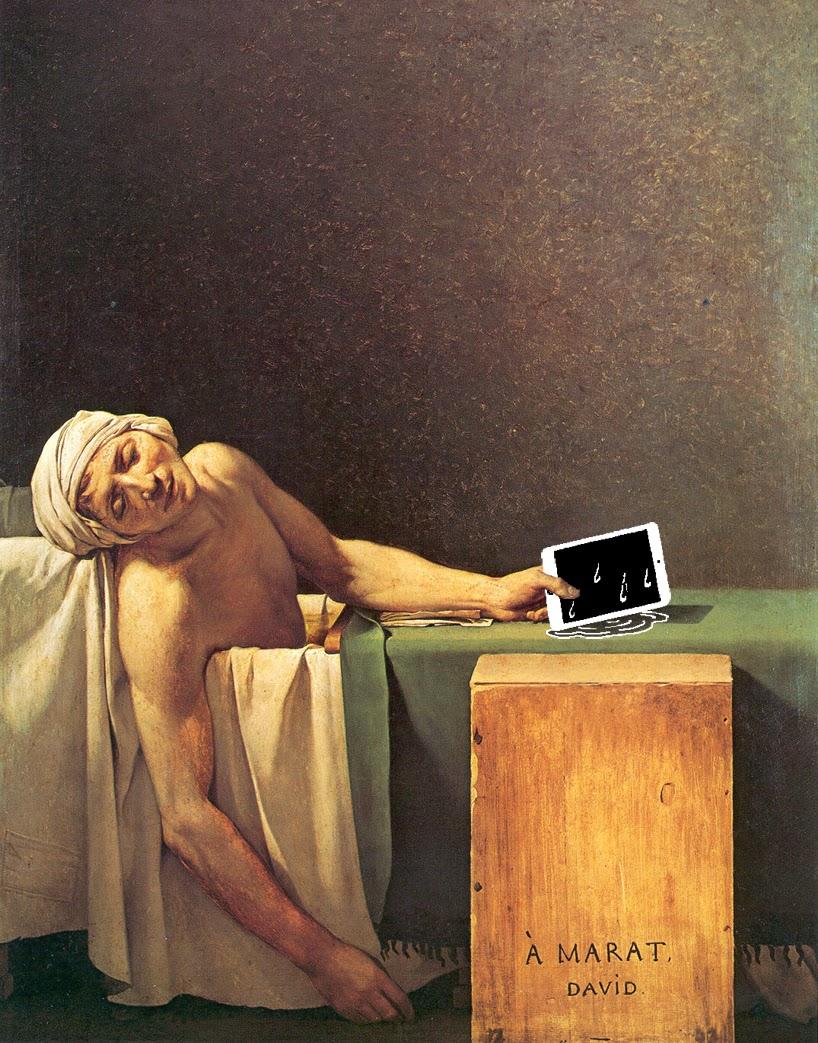 Жак Луи Давид Смерть Марата (1793)