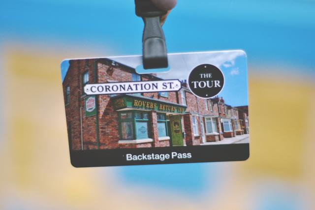 Coronation Street Tour Lanyard