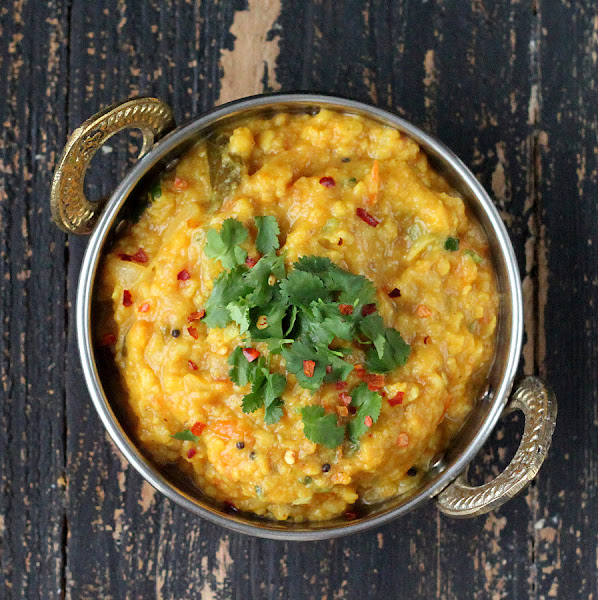 Mung Bean Dal and Split Pigeon Pea Stew - Vegan Richa