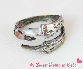 eagle talon ring, silver talon ring