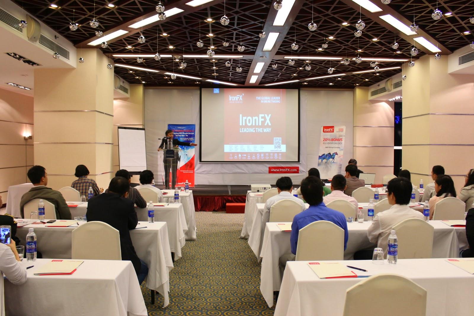 Đêm hội giao lưu về thị trường tài chính IronFX